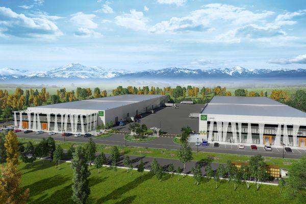 Логистичен комплекс с офиси, административни звена и складове VJF Hale